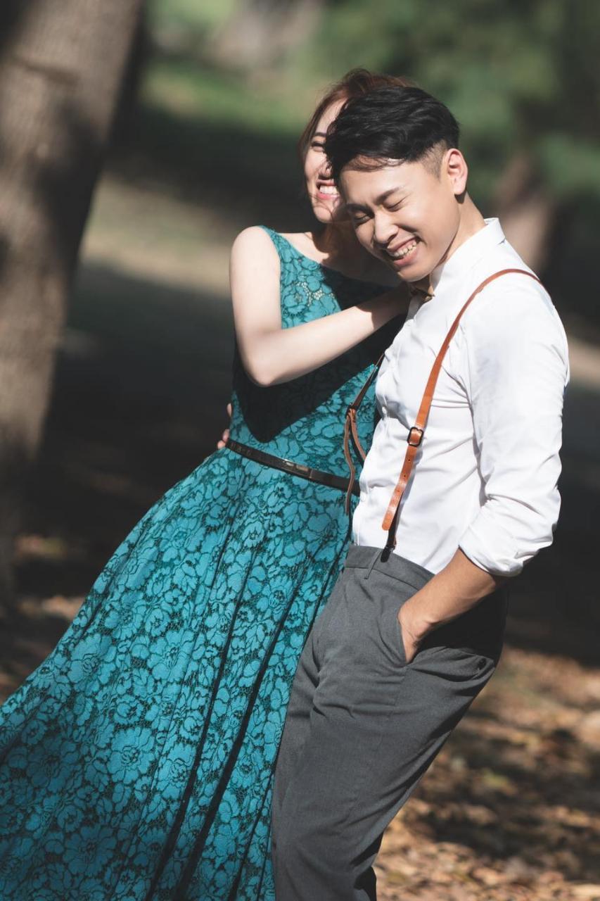 紅色大門憶像館 / 台南自然風格婚紗